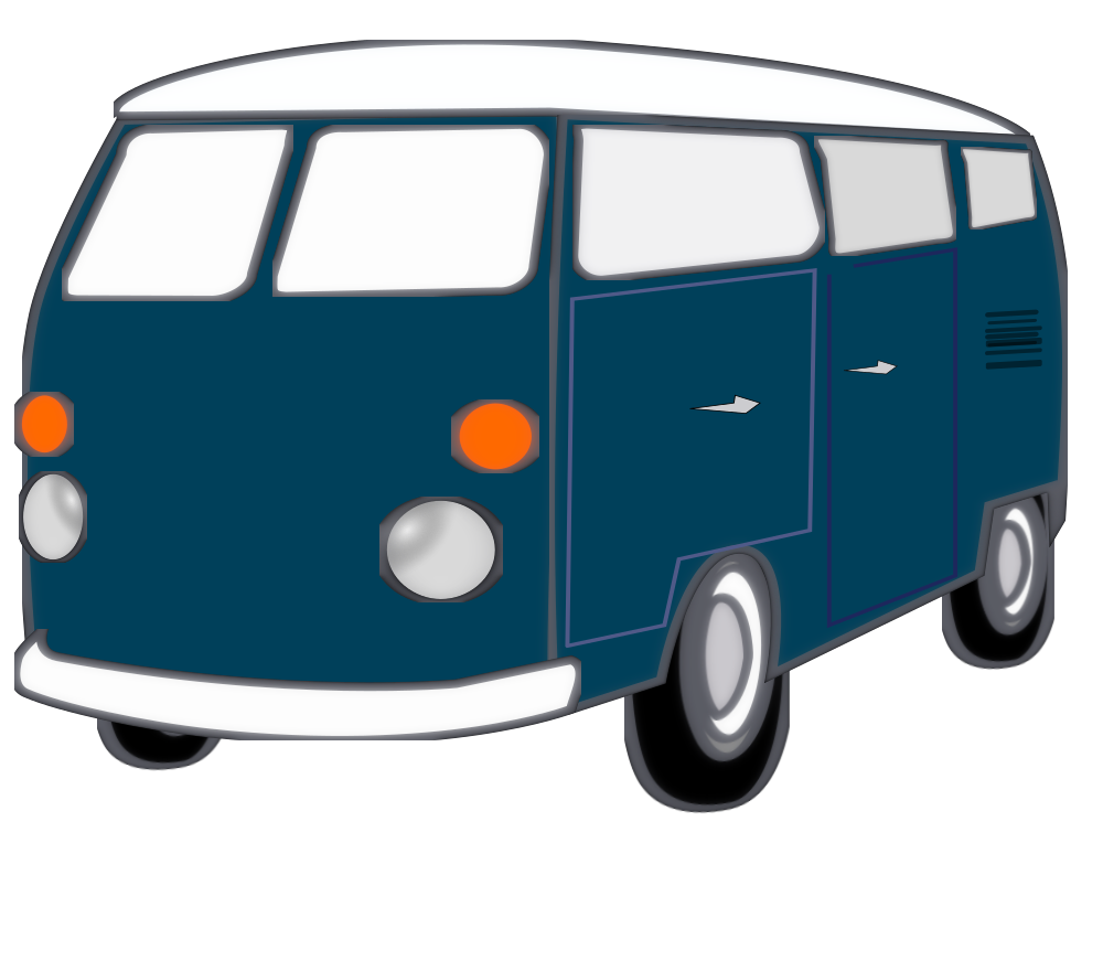 OnlineLabels Clip Art - Good-Old-Van
