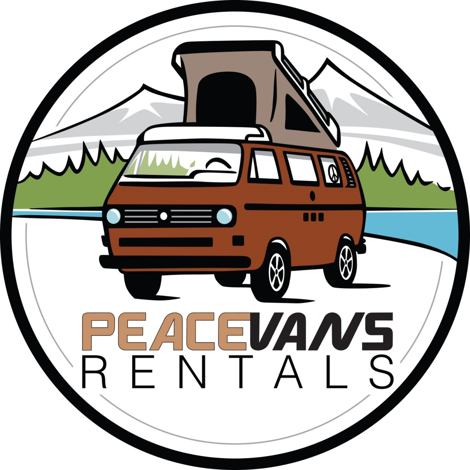 Vw rental rent a. Minivan clipart van camper