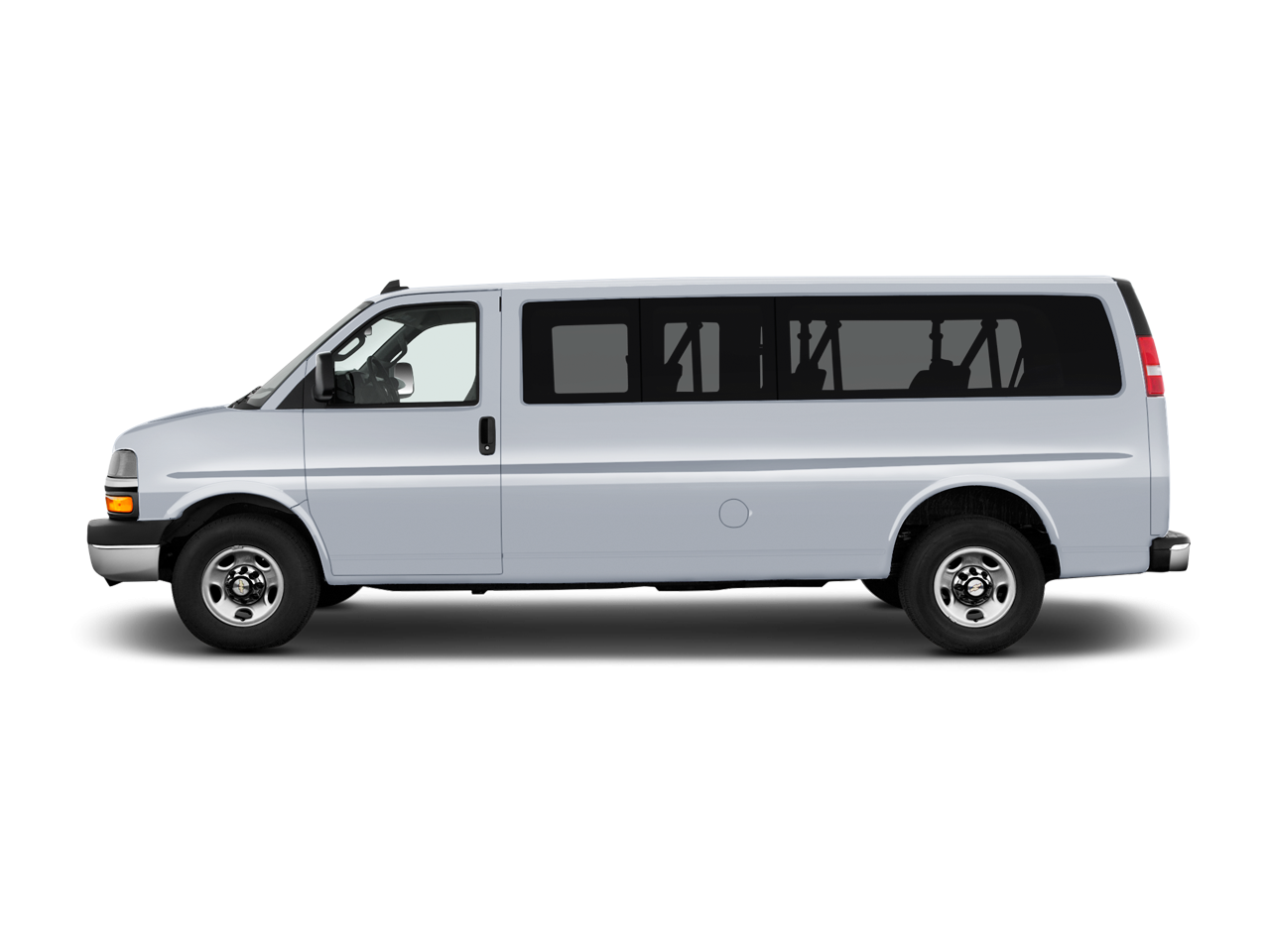 Used chevrolet express passenger. Minivan clipart van chevy