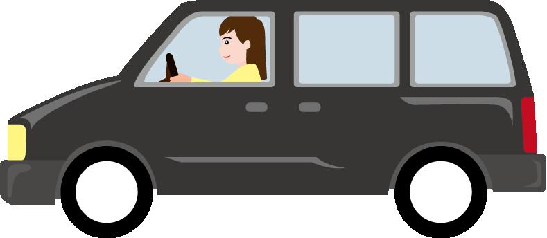 Free mini cliparts download. Minivan clipart van family