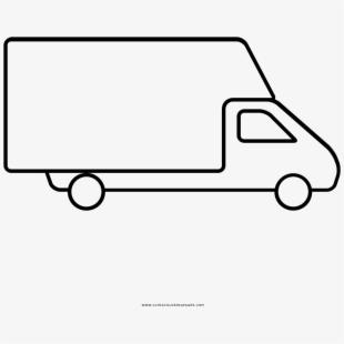 Vans line art free. Minivan clipart van shuttle
