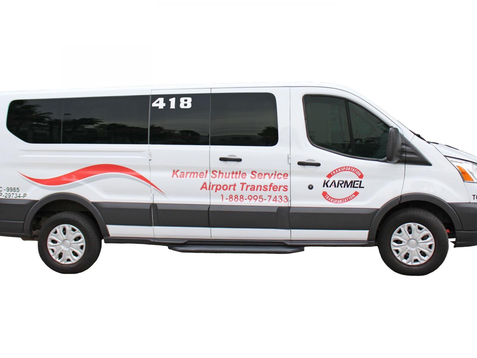 Minivan clipart van shuttle. Karmel service discover los
