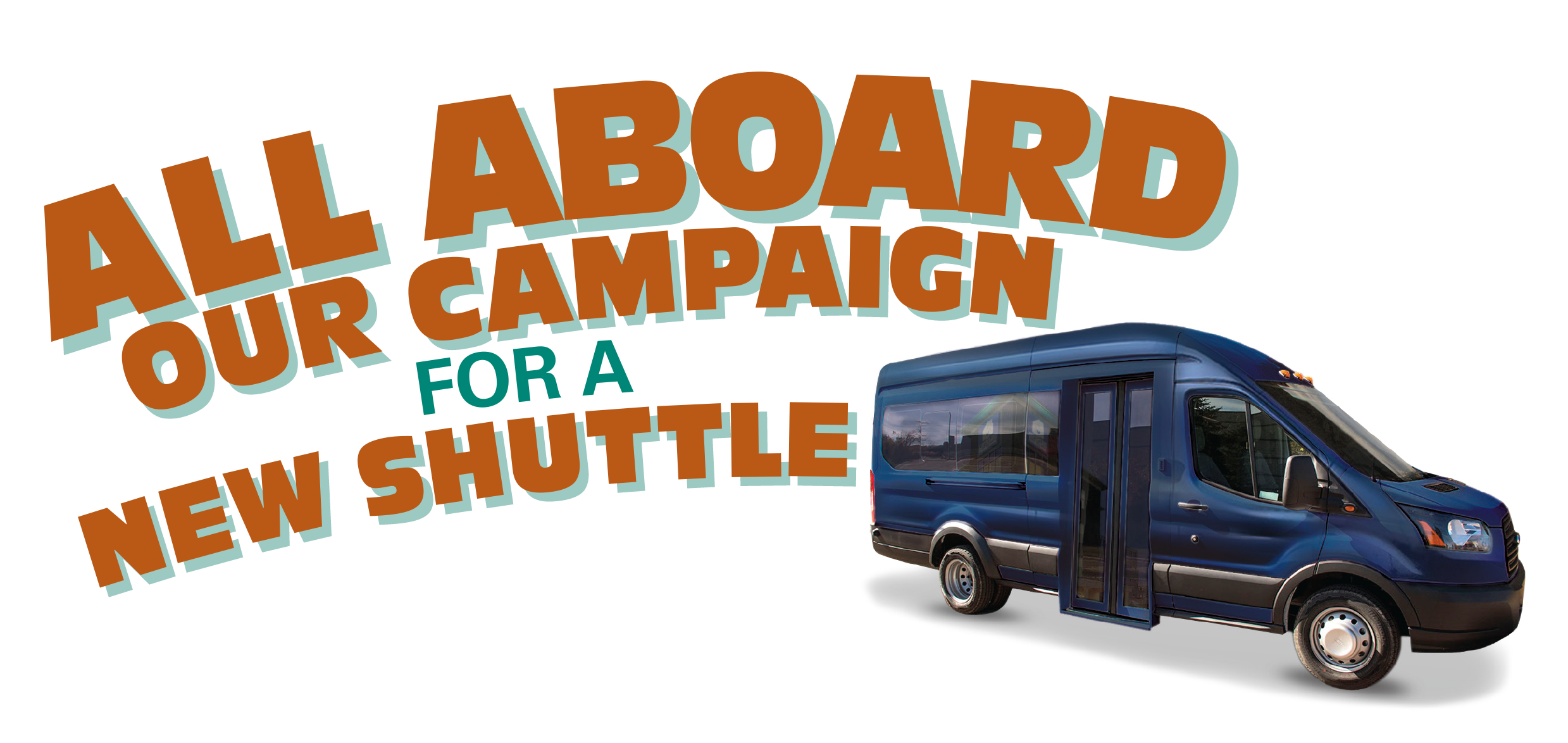 Minivan clipart van shuttle. All aboard our campaign