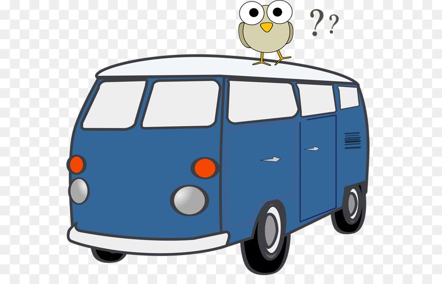 Cartoon car transparent clip. Minivan clipart van volkswagen
