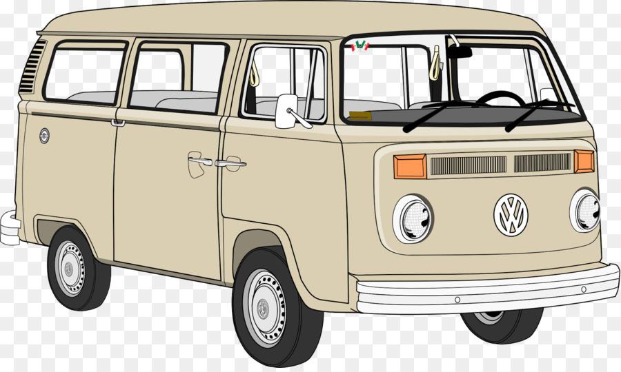 Minivan clipart van volkswagen. Car cartoon transparent clip