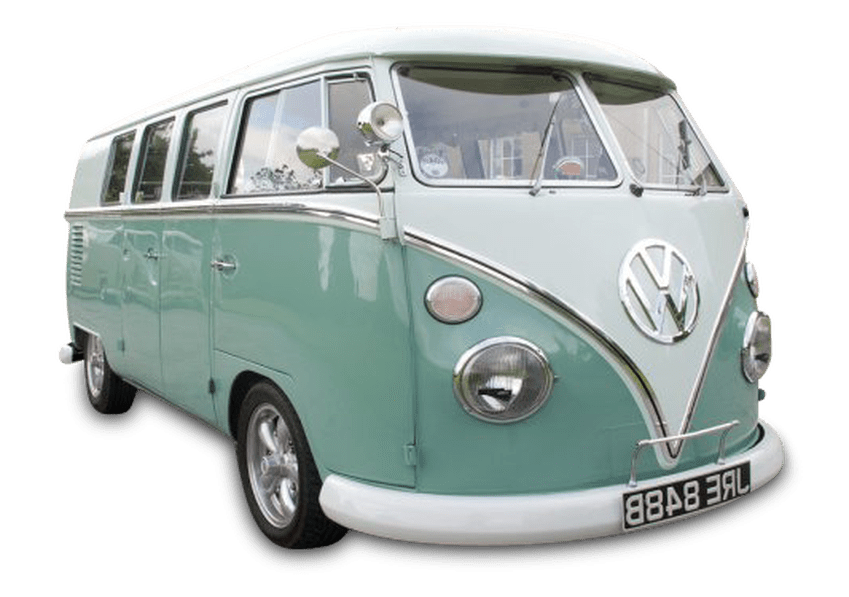 Minivan clipart vintage van vw. Campervan wedding car showroom