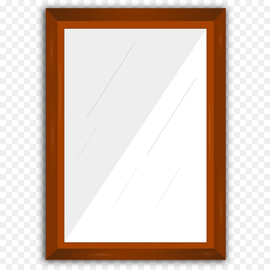 Picture frames clip art. Mirror clipart