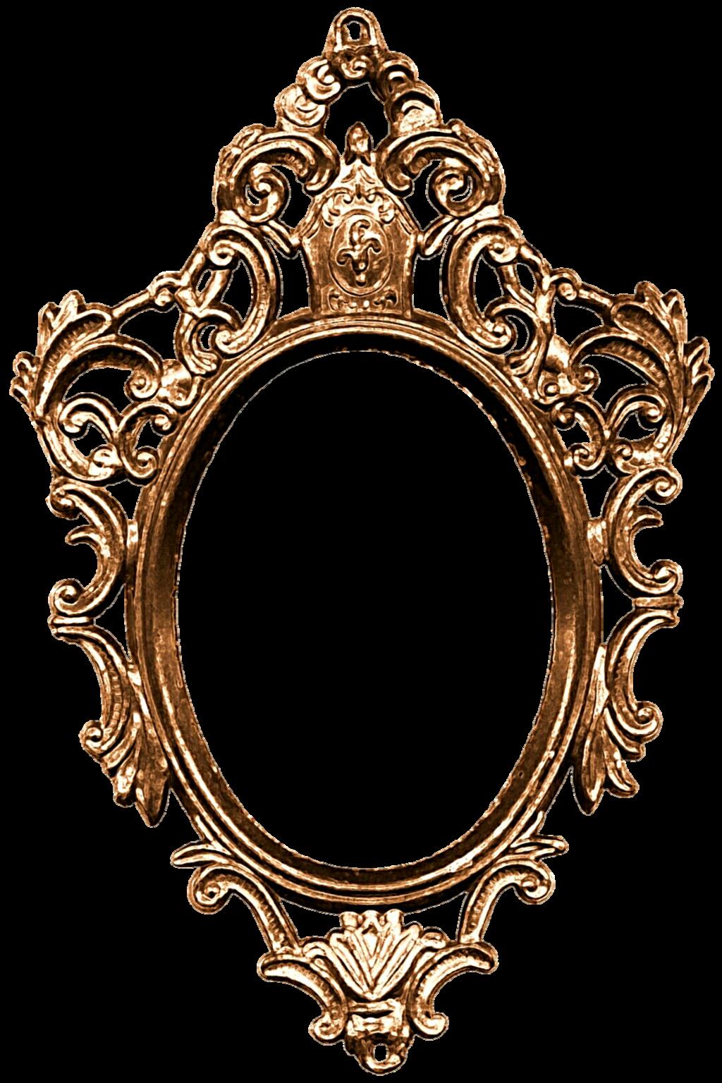 Mirror clipart bathroom mirror. Vintage frame png