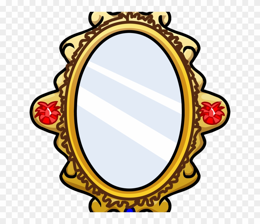 Mirror clipart cartoon. Transparent pencil and in