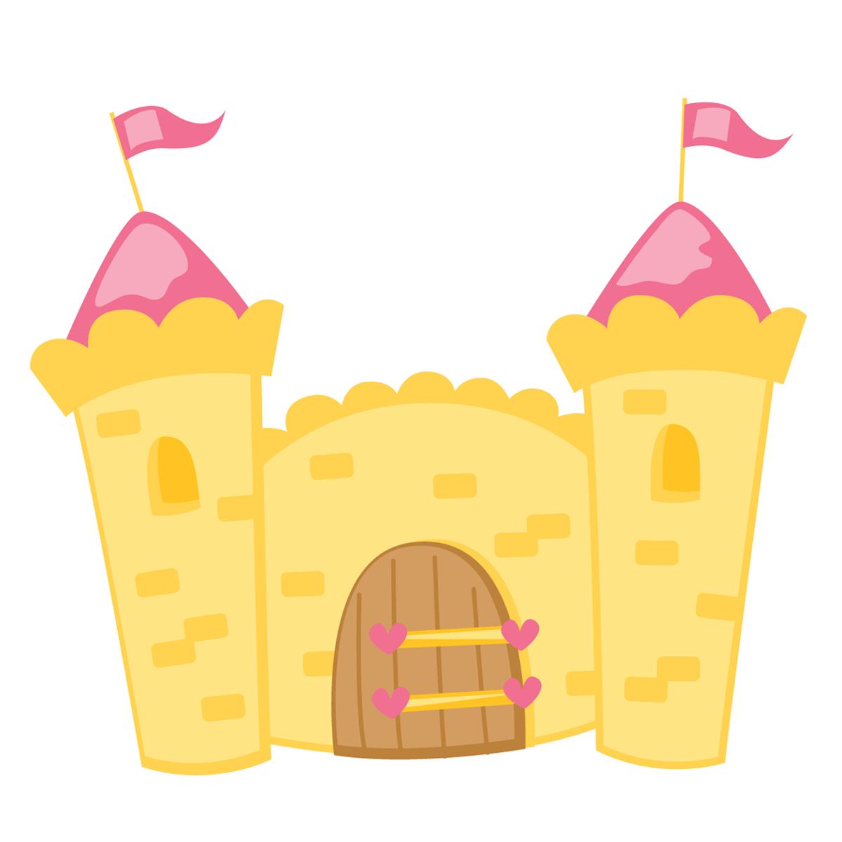 Branca de Neve Cute Castelo