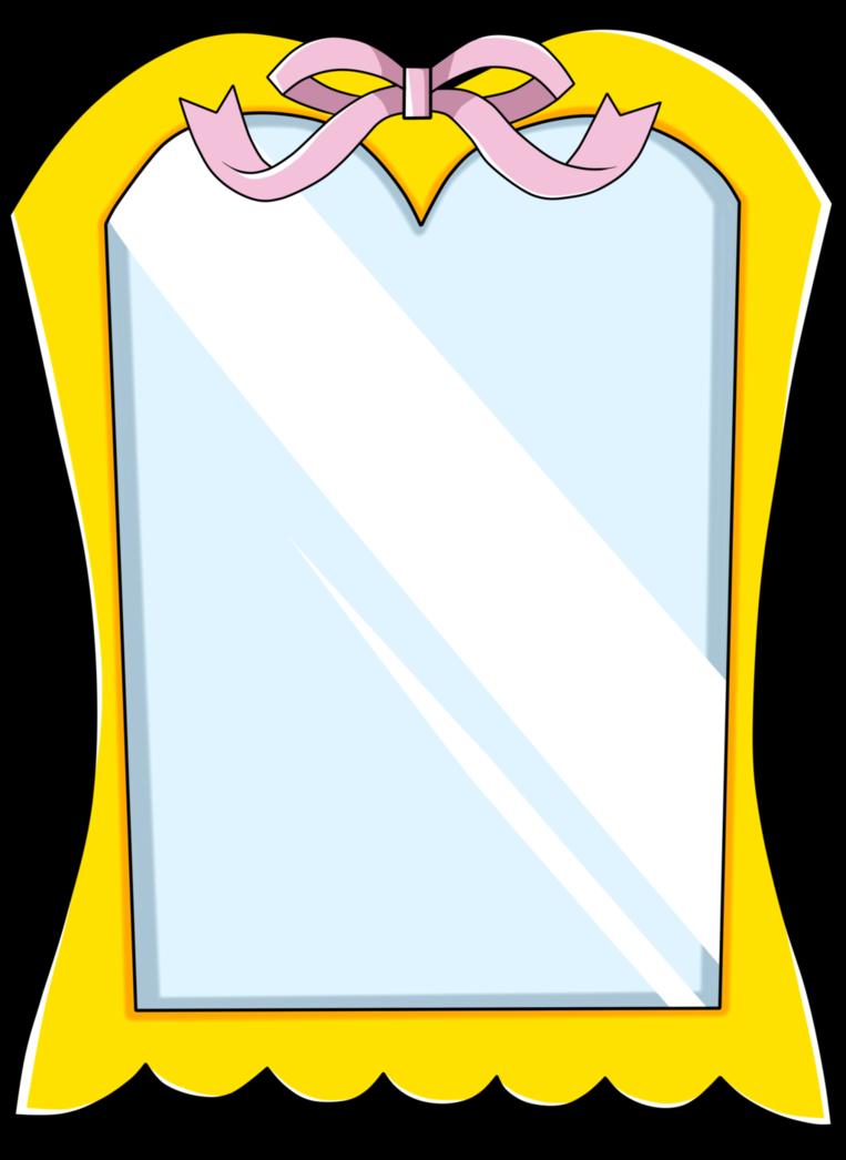 Mirror clipart golden mirror. By isack on deviantart