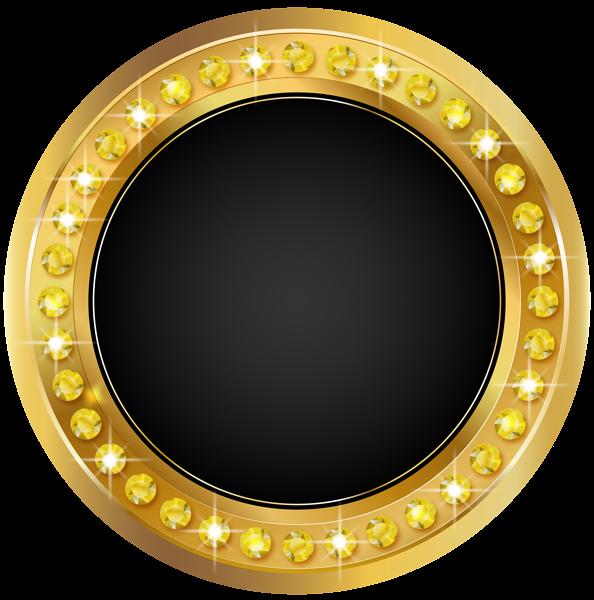 Mirror clipart golden mirror. Seal gold black png