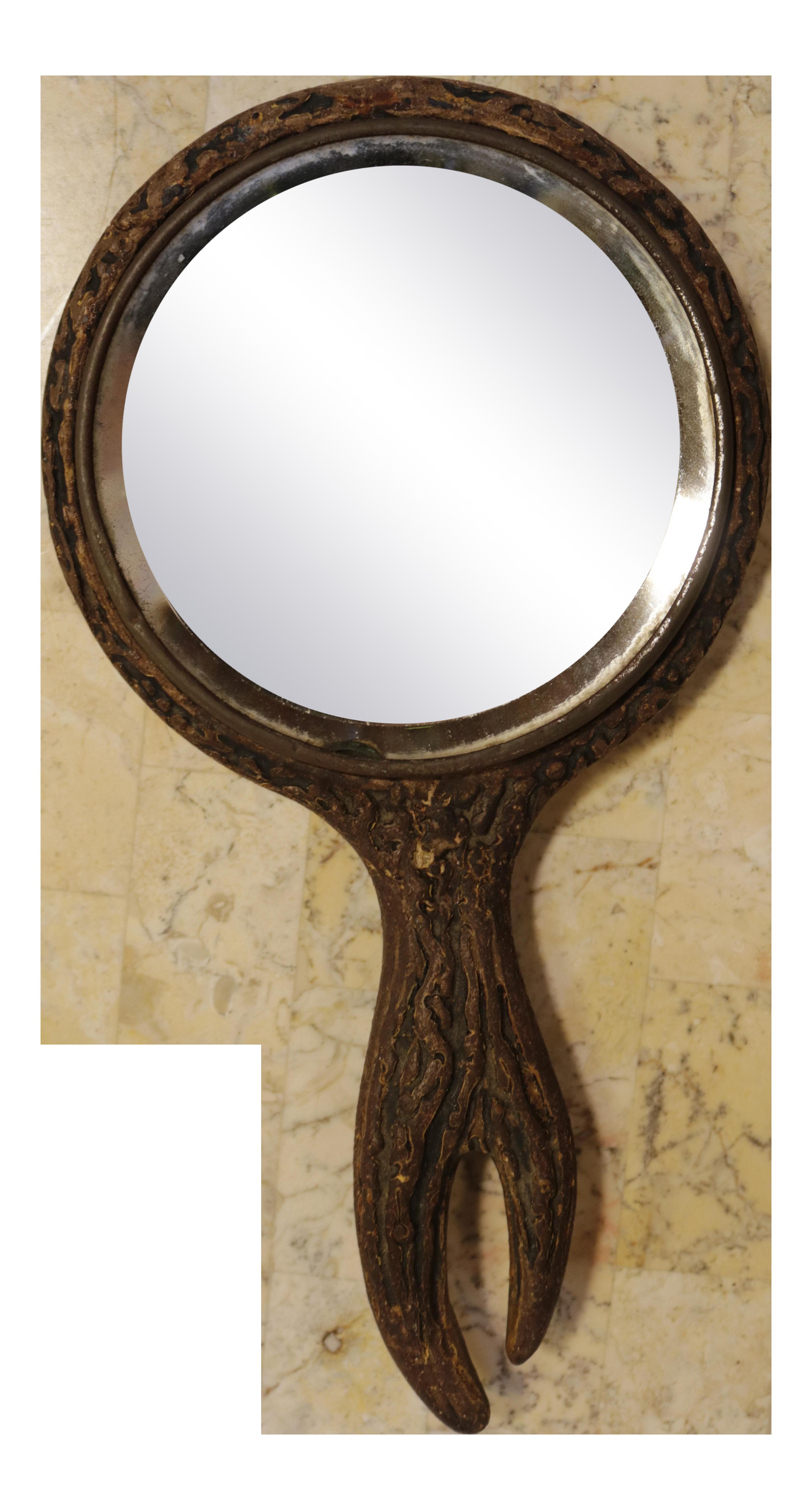 Amazon.com: Luxor Salon Mirrors - Hand Held Paddle Mirror / 9