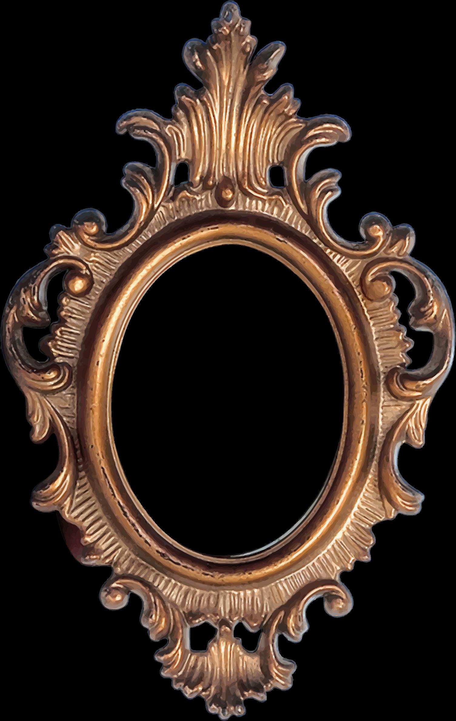 Mirror clipart ornate. Frame big image png