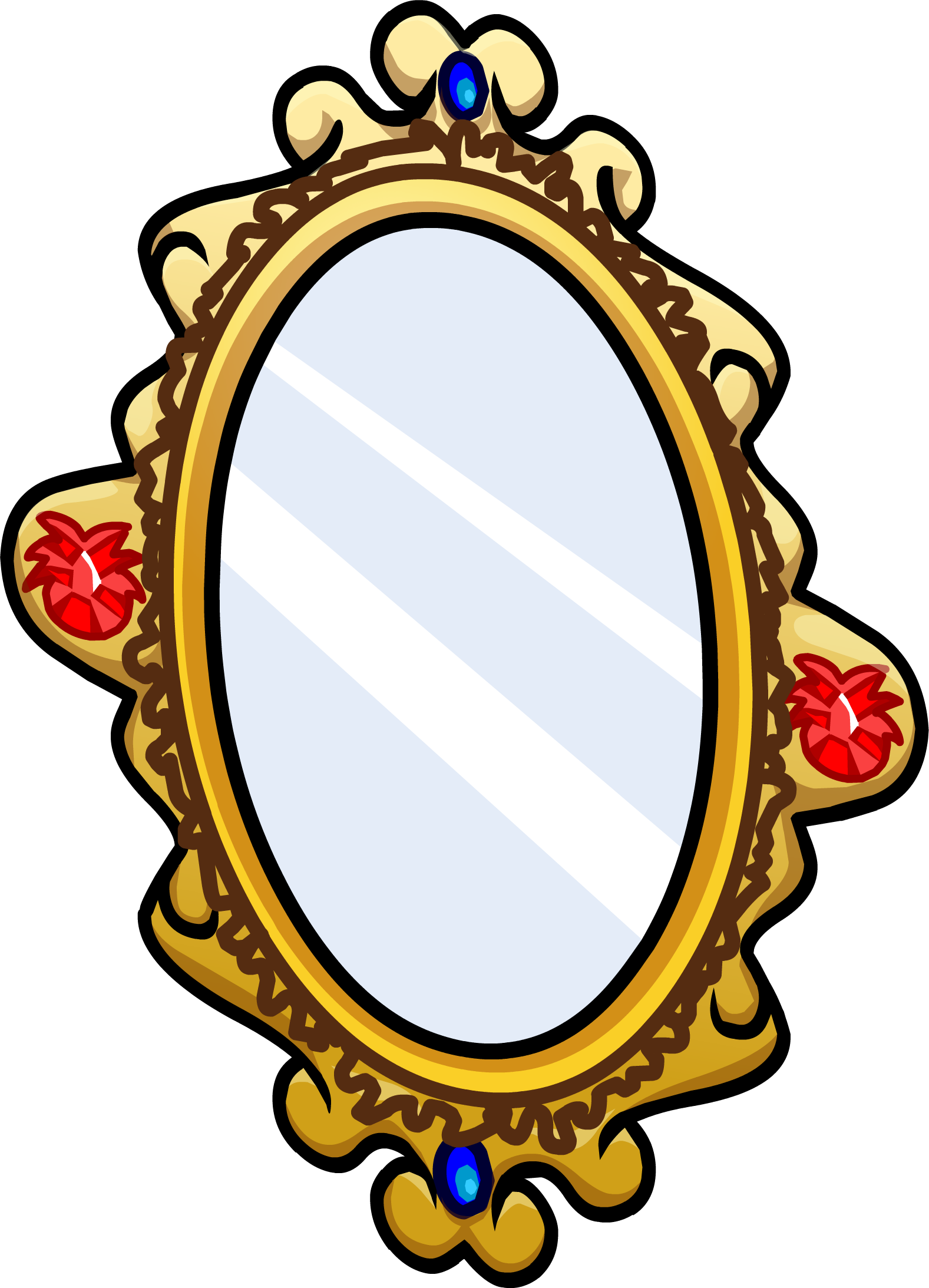 Mirror clipart ornate. Image sprite png club