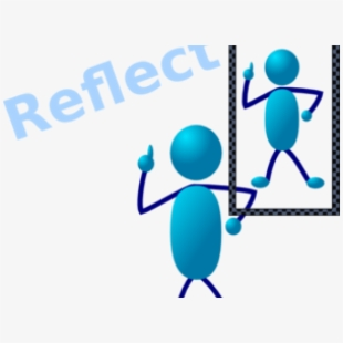 Mirror clipart personal reflection. Reflective teaching clip art