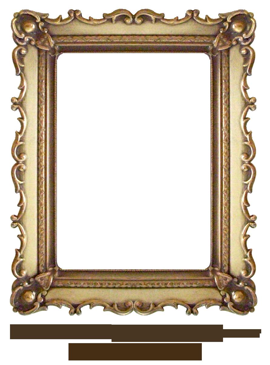 Carved by ekduncan eveyd. Vintage gold frame png
