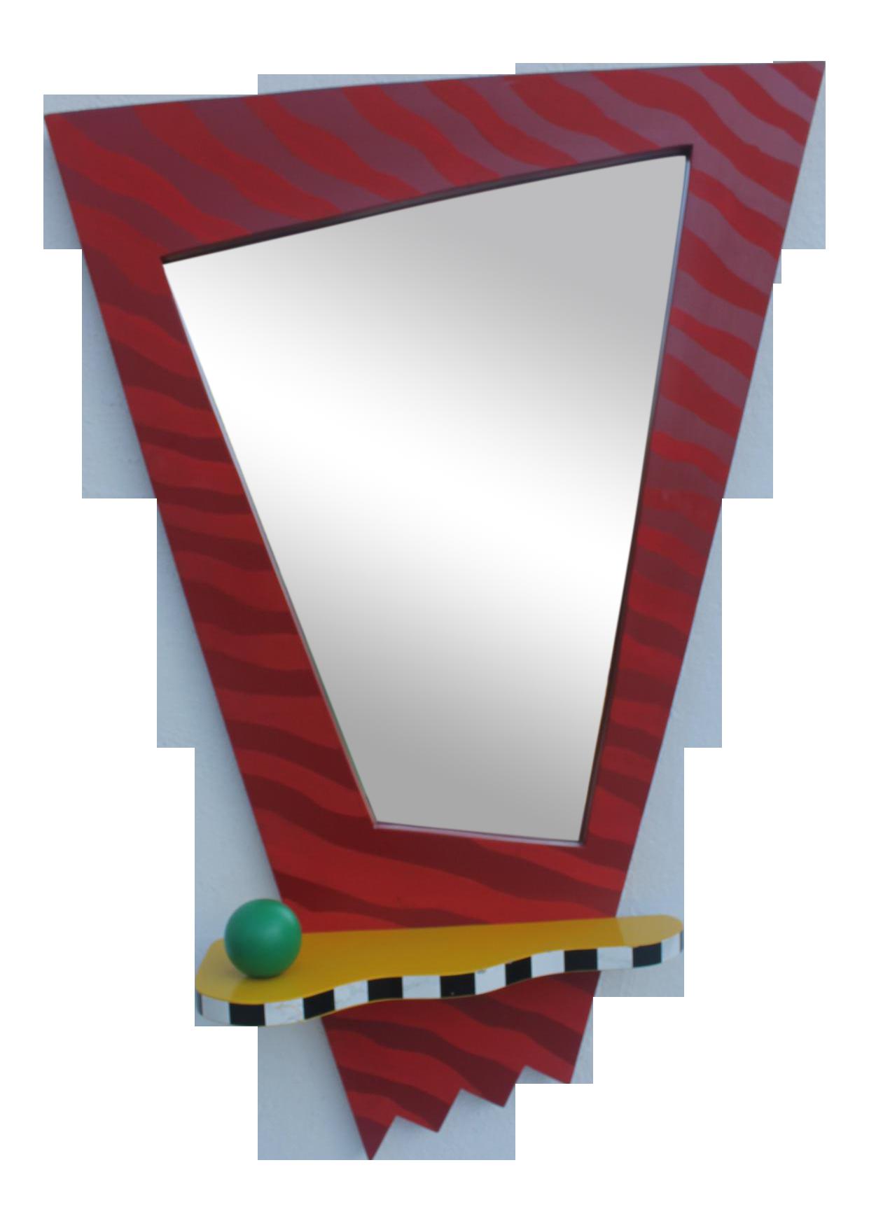 Mirror clipart rectangular mirror.  vintage thor memphis