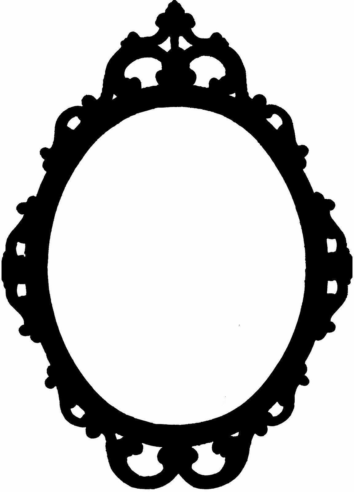 Mirror clipart svg. Another beautiful frame free