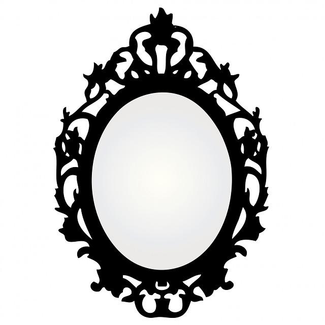 Mirror clipart. Clip art free panda