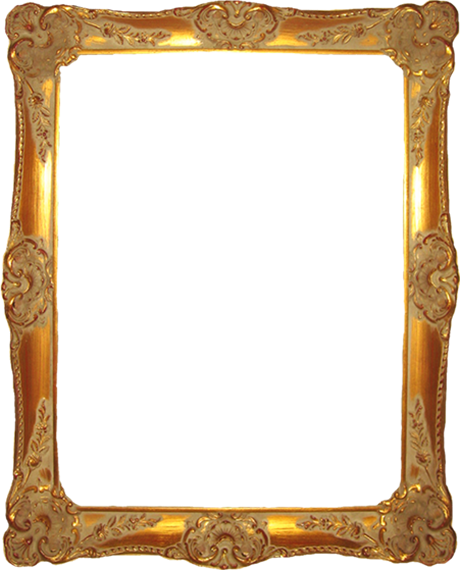 Bathroom hand made painted. Mirror frame png