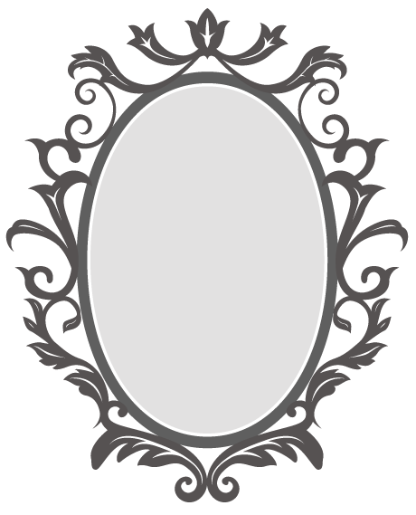 for free download. Mirror frame png