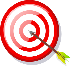Mission clip art free. Missions clipart board target