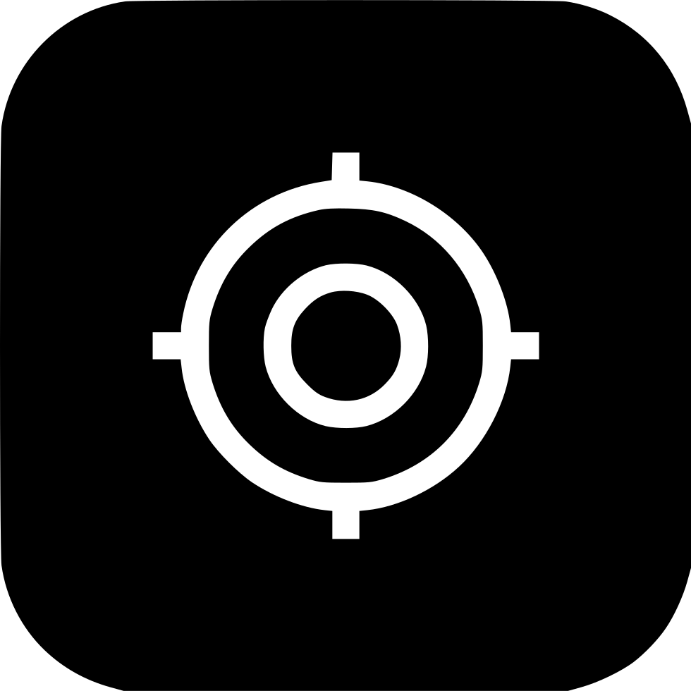 Missions clipart board target. Shoot circle mission ui