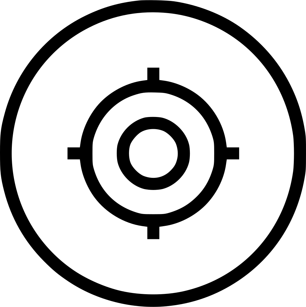Shoot circle mission ui. Missions clipart board target