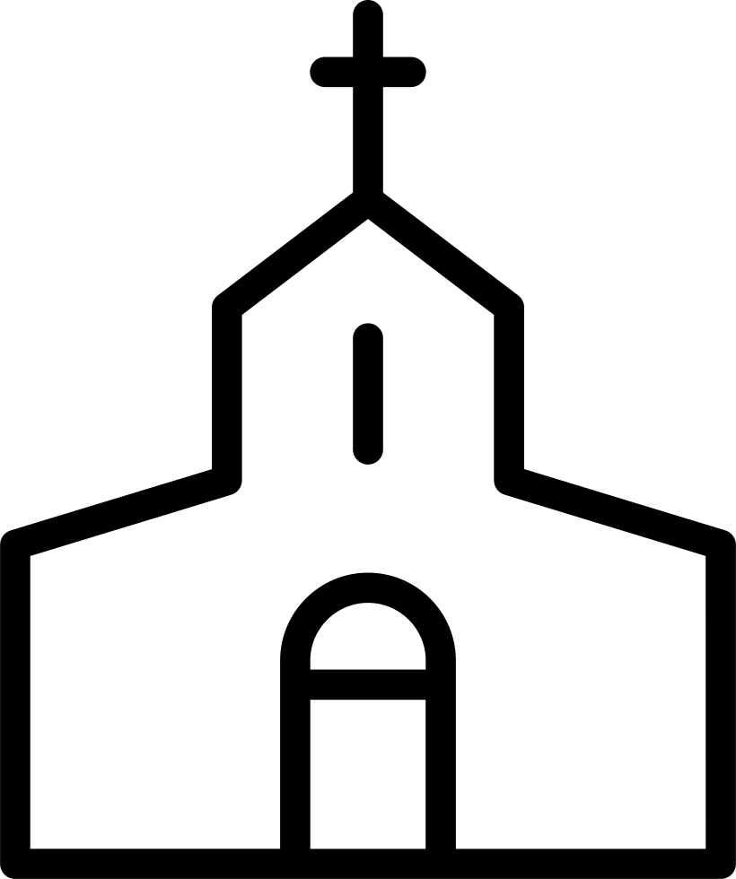 Christian Church Svg Png Icon Free Download