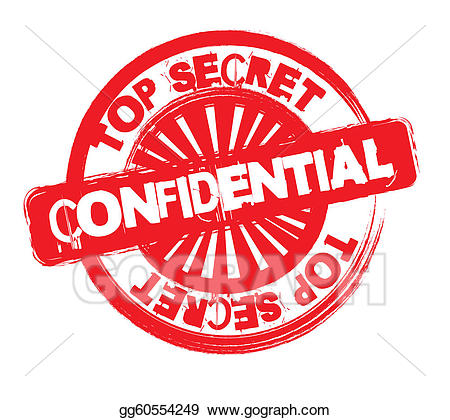Vector stock illustration gg. Missions clipart confidential