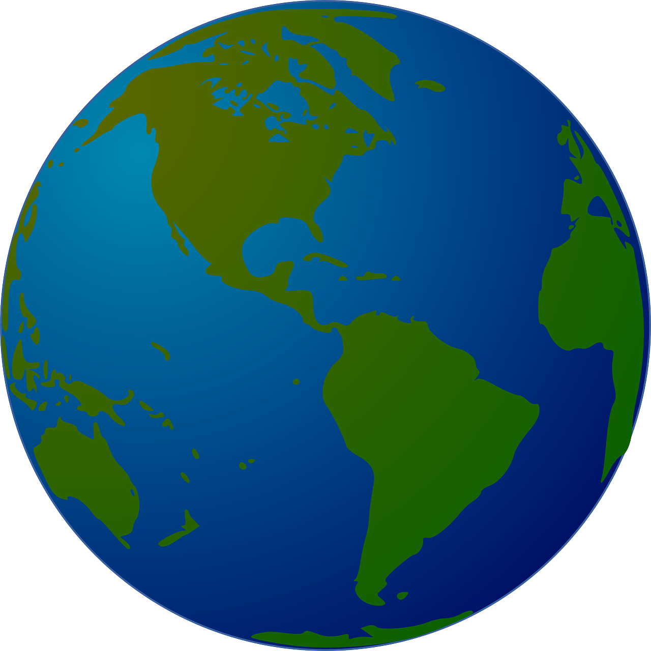 Earth globe wisc online. Missions clipart blue planet
