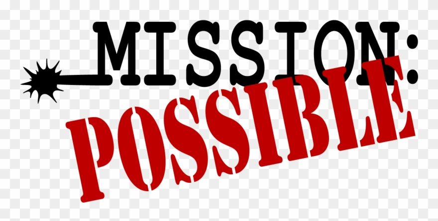 Missions clipart clip art. Mission impossible your should