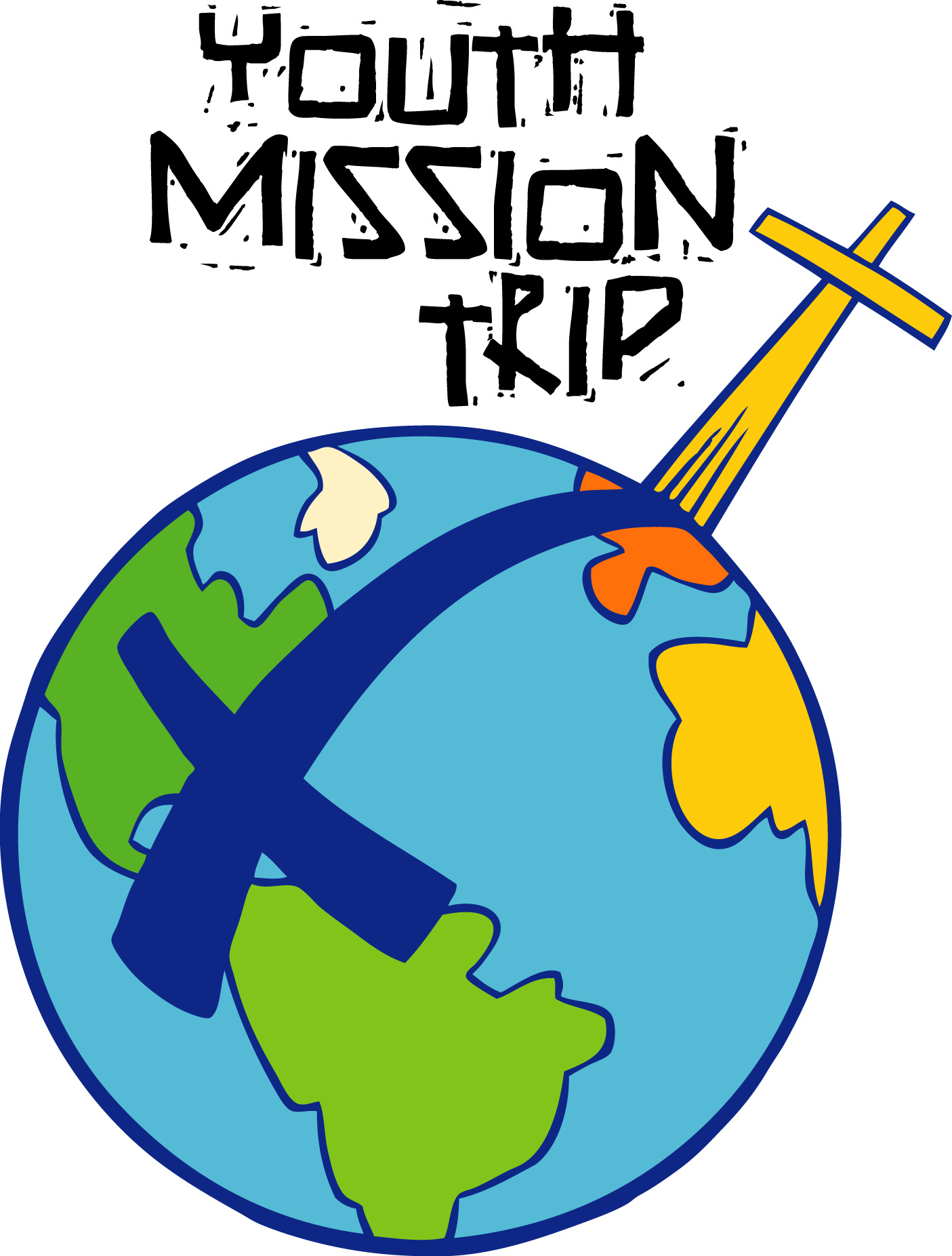 Youth clip art july. Mission clipart mission trip