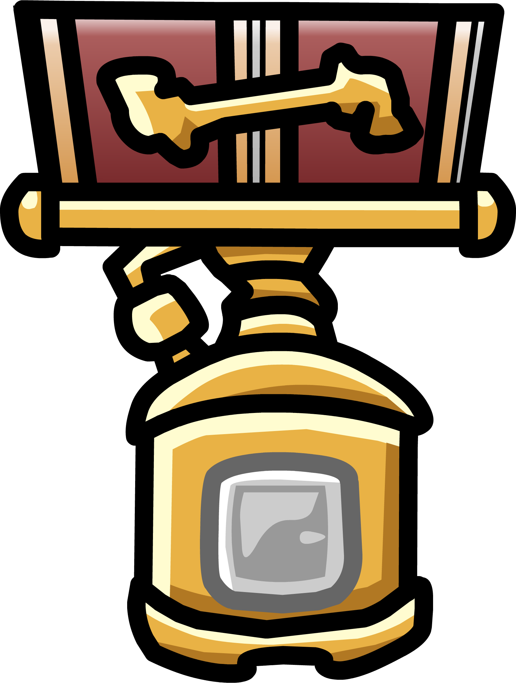 Mission medal club penguin. Missions clipart official stamp
