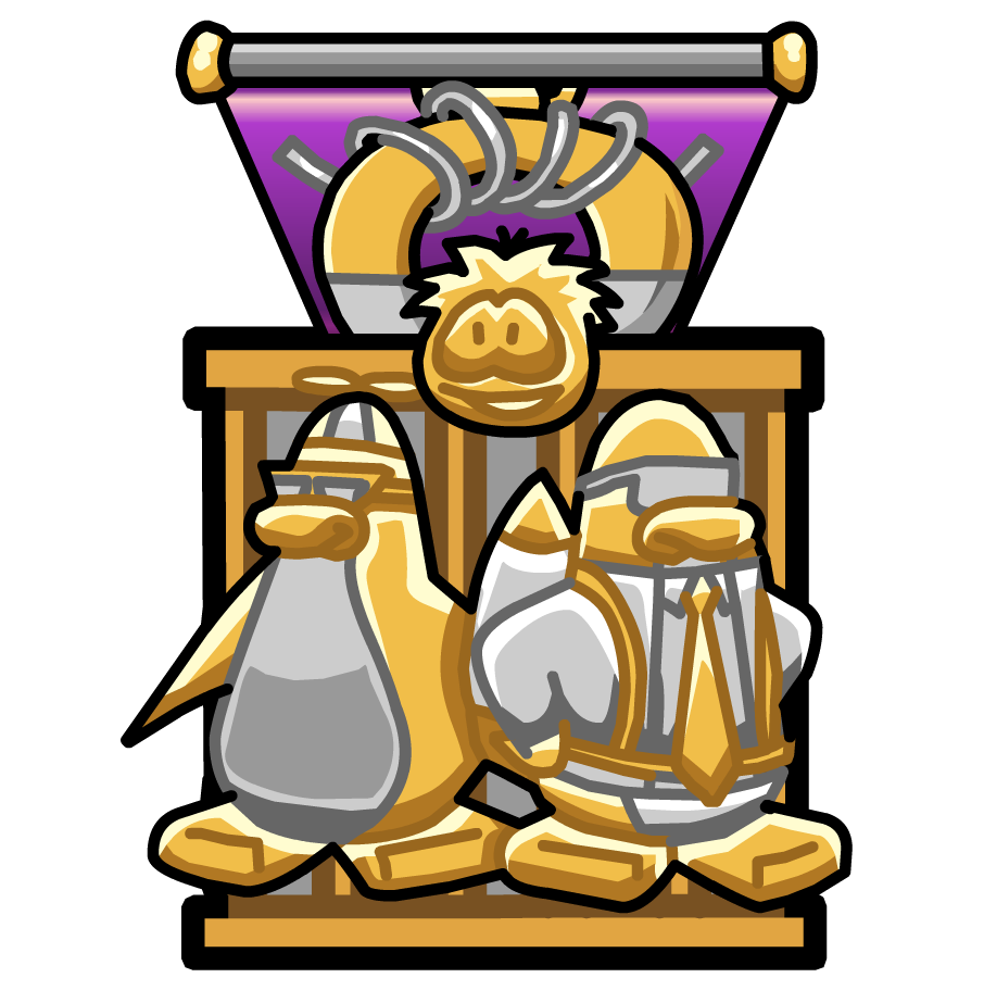 Missions clipart official stamp. Mission medal club penguin