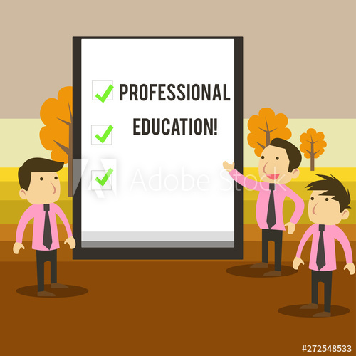Missions clipart professional business. Writing note showing education