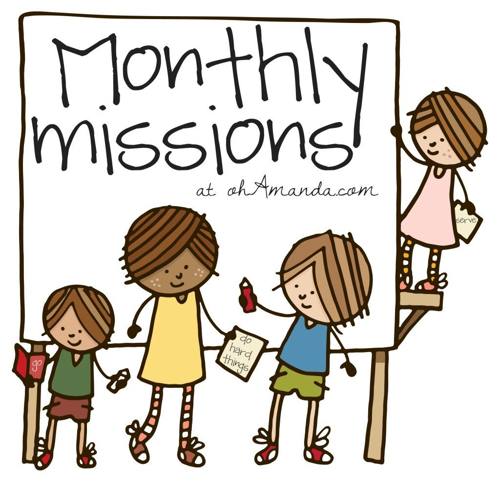 Missions clipart service project. Introducing monthly outreach projects