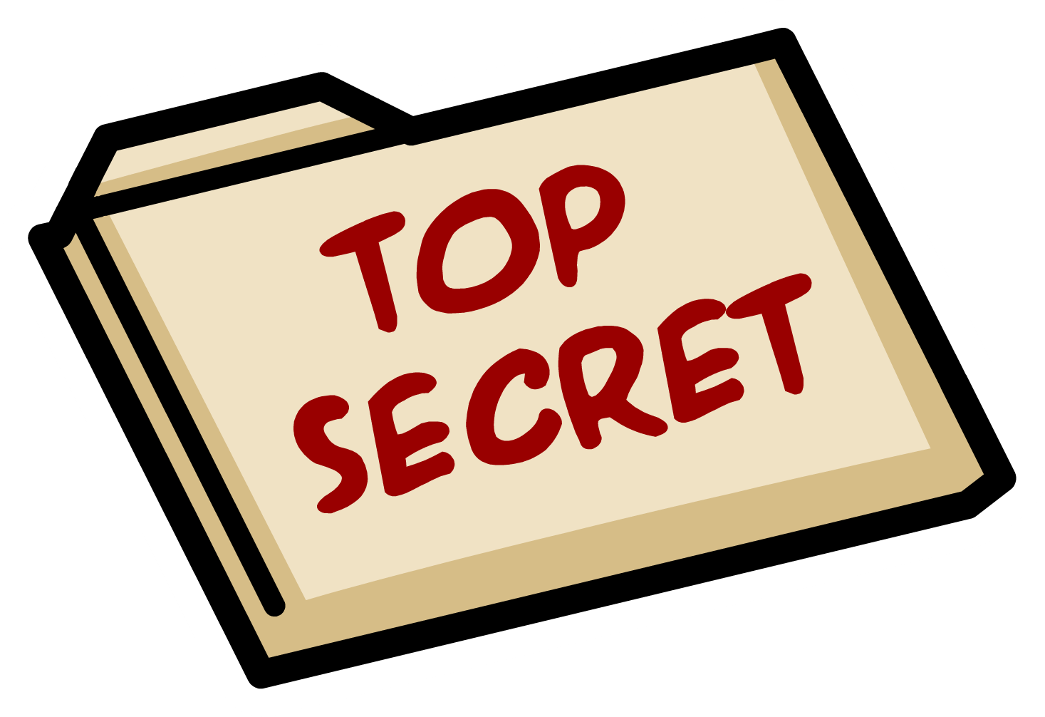 stamp clipart top secret #144193100