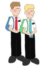 Lds missionaries google search. Missionary clipart