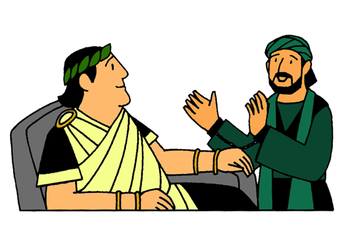 Paul on trial mission. Missionary clipart acts the apostle