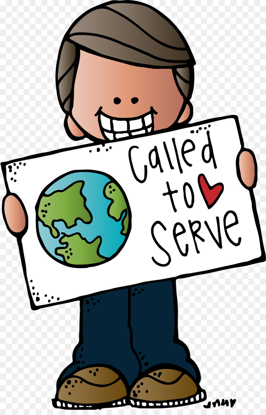 Boy cartoon ball communication. Missionary clipart called to serve