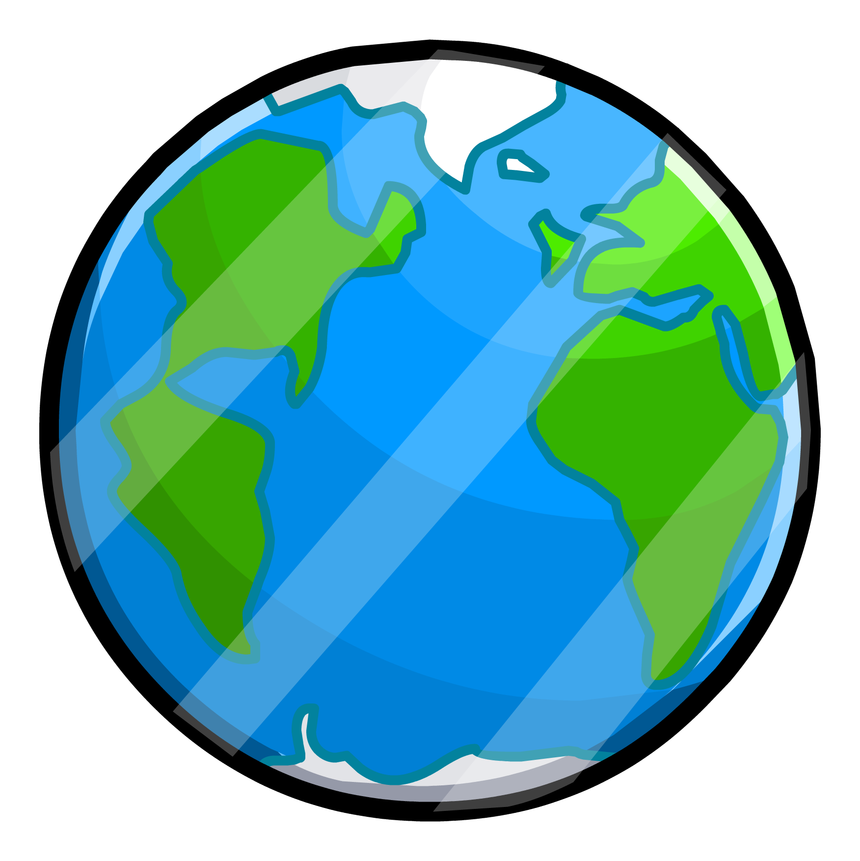 Pin club penguin wiki. Missions clipart globe