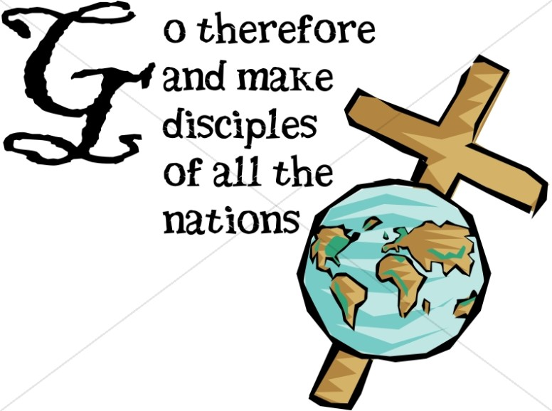 Missions clipart great commission. What is the commision