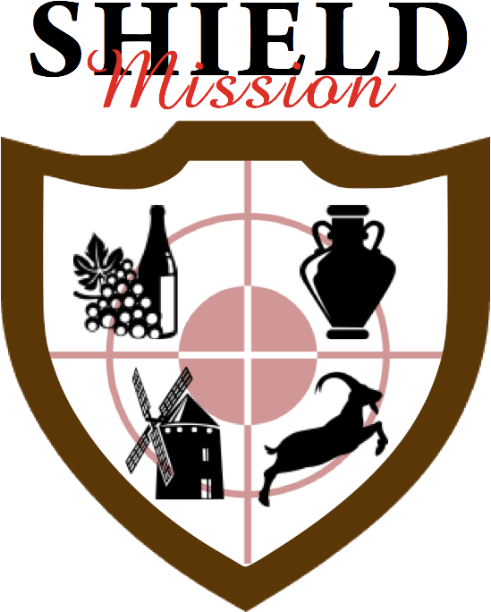 Missions clipart mission accomplished. Triviador world usa shieldmissionlogoxeuspng
