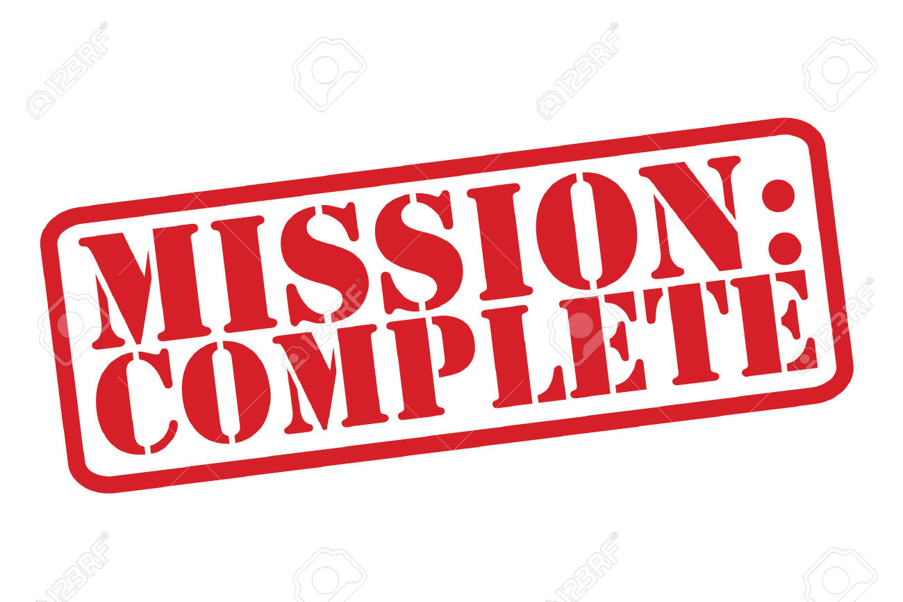 Download for free png. Missions clipart mission accomplished