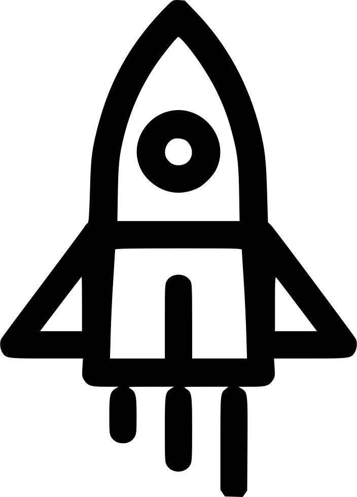 Missions clipart rocket. Growth launcher achivement goal