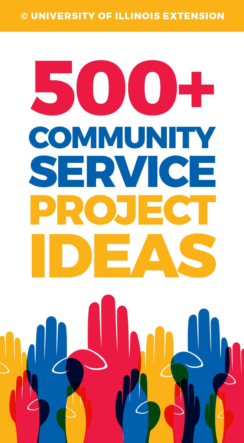 service ideas great. Volunteering clipart community project