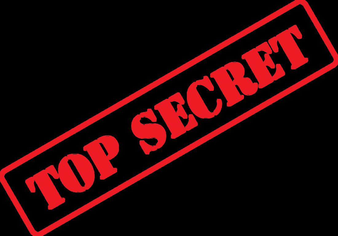 Clip art image illustration. Missions clipart top secret