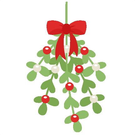 Freebie of the day. Mistletoe clipart